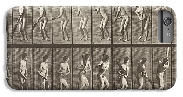 Cricketer IPhone 6 Plus Case by Eadweard Muybridge