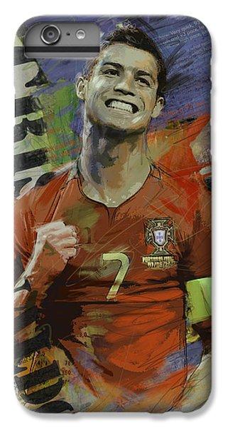 Cristiano Ronaldo - B IPhone 6 Plus Case by Corporate Art Task Force