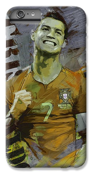 Cristiano Ronaldo IPhone 6 Plus Case by Corporate Art Task Force