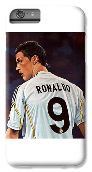 Cristiano Ronaldo IPhone 6 Plus Case by Paul Meijering