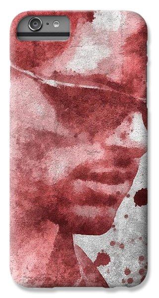 Cyclops X Men Paint Splatter IPhone 6 Plus Case by Dan Sproul