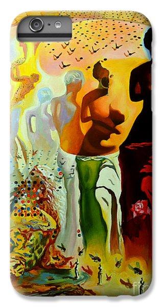 Dali Oil Painting Reproduction - The Hallucinogenic Toreador IPhone 6 Plus Case by Mona Edulesco
