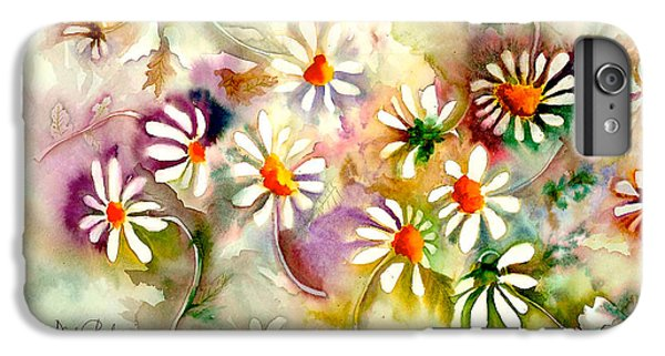 Dance Of The Daisies IPhone 6 Plus Case by Neela Pushparaj