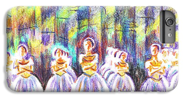Dancers In The Forest IPhone 6 Plus Case by Kip DeVore