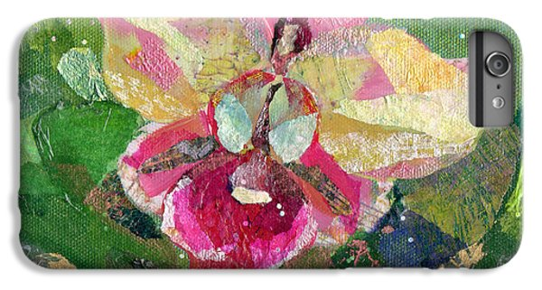 Dancing Orchid I IPhone 6 Plus Case by Shadia Derbyshire