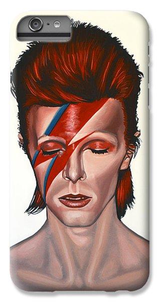 David Bowie Aladdin Sane IPhone 6 Plus Case by Paul Meijering