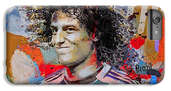 David Luiz IPhone 6 Plus Case by Corporate Art Task Force