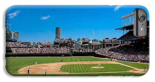 Day Game At Wrigley Field IPhone 6 Plus Case by Anthony Doudt