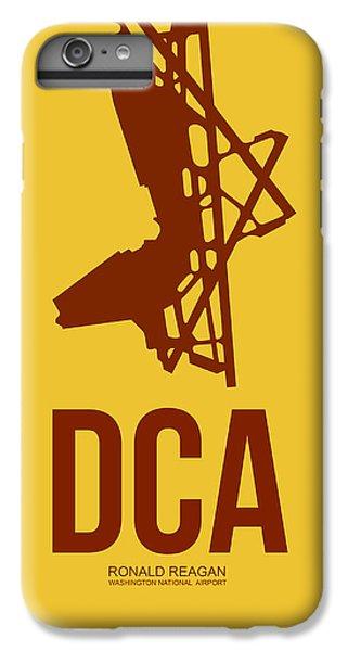 Dca Washington Airport Poster 3 IPhone 6 Plus Case by Naxart Studio