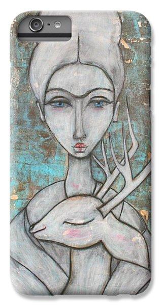 Deer Frida IPhone 6 Plus Case by Natalie Briney