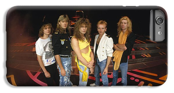 Def Leppard - Round Stage 1987 IPhone 6 Plus Case by Epic Rights