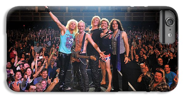 Def Leppard - Viva! Hysteria At The Hard Rock 2013 IPhone 6 Plus Case by Epic Rights