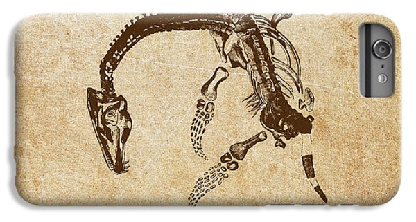 Dinosaur Plesiosaurus Macrocephalus IPhone 6 Plus Case by Aged Pixel