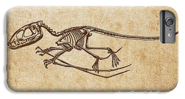 Dinosaur Pterodactylus IPhone 6 Plus Case by Aged Pixel