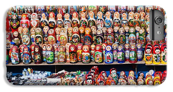 Display Of The Russian Nesting Dolls IPhone 6 Plus Case by Panoramic Images