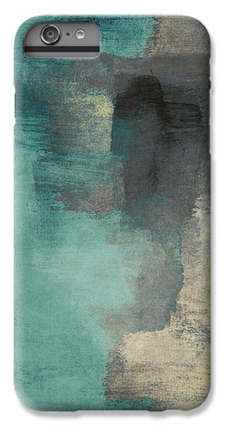 Downtown Blue Rain I IPhone 6 Plus Case by Lanie Loreth