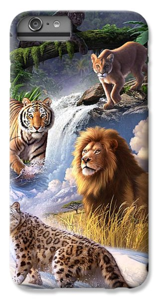 Earth Day 2013 Poster IPhone 6 Plus Case by Jerry LoFaro