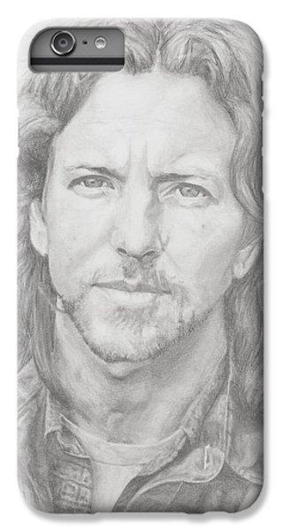 Eddie Vedder IPhone 6 Plus Case by Olivia Schiermeyer