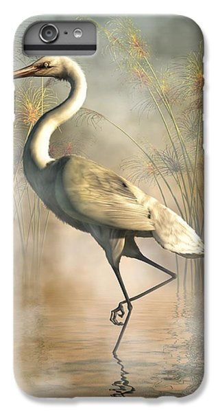 Egret IPhone 6 Plus Case by Daniel Eskridge