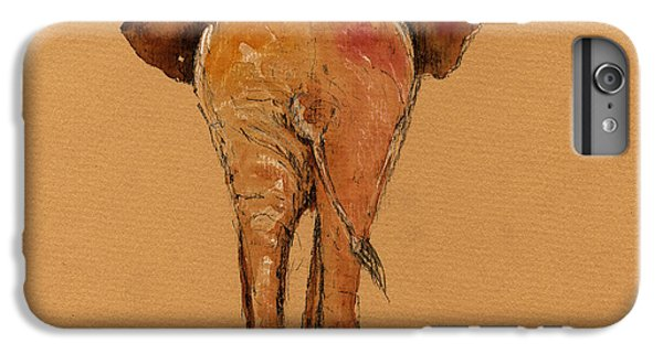 Elephant Back IPhone 6 Plus Case by Juan  Bosco