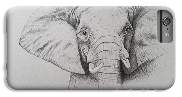 Elephant IPhone 6 Plus Case by Ele Grafton