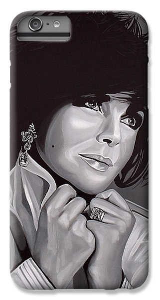 Elizabeth Taylor IPhone 6 Plus Case by Paul Meijering