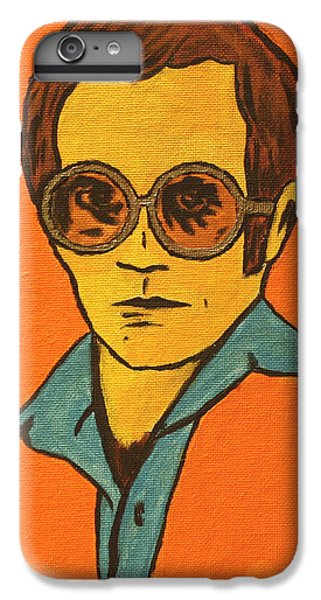 Elton John IPhone 6 Plus Case by John Hooser