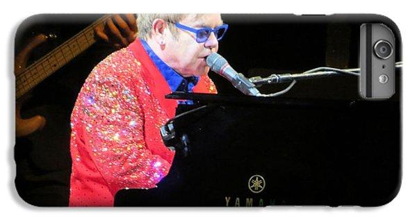 Elton John Live IPhone 6 Plus Case by Aaron Martens