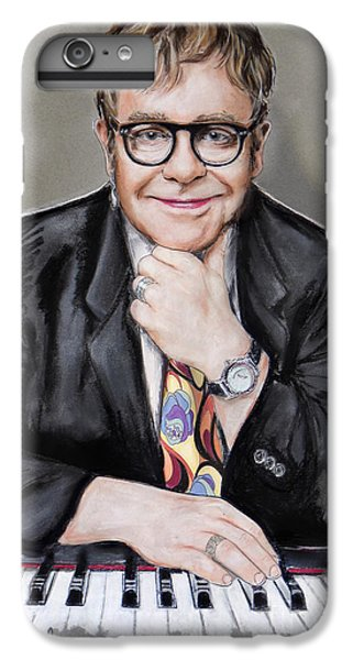 Elton John IPhone 6 Plus Case by Melanie D