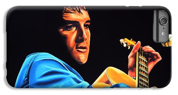 Elvis Presley 2 Painting IPhone 6 Plus Case by Paul Meijering