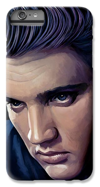 Elvis Presley Artwork 2 IPhone 6 Plus Case by Sheraz A