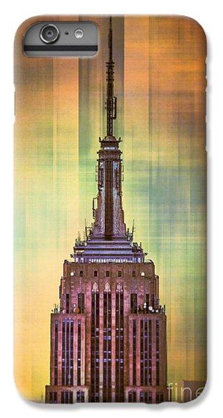 Empire State Building 3 IPhone 6 Plus Case by Az Jackson