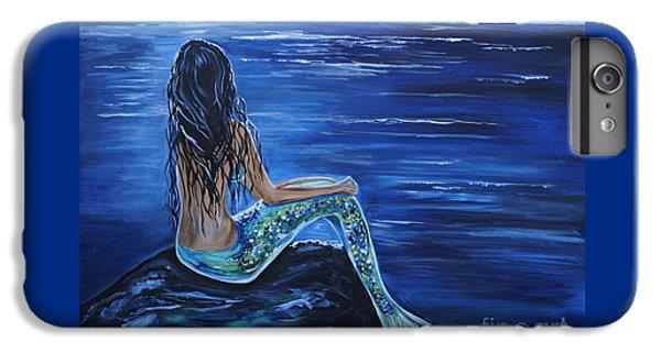 Enchanting Mermaid IPhone 6 Plus Case by Leslie Allen