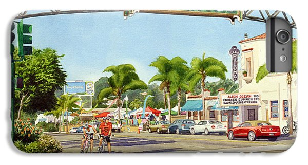 Encinitas California IPhone 6 Plus Case by Mary Helmreich