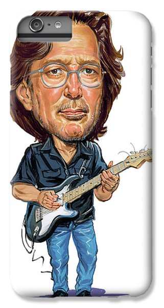 Eric Clapton IPhone 6 Plus Case by Art