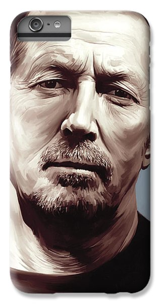 Eric Clapton Artwork IPhone 6 Plus Case by Sheraz A
