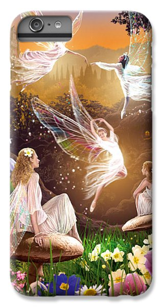 Fairy Ballet IPhone 6 Plus Case by Garry Walton