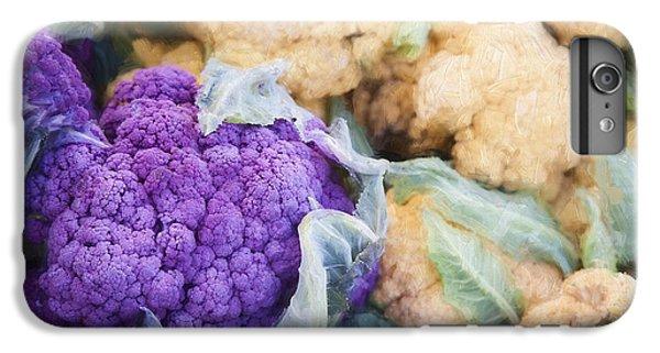 Farmers Market Purple Cauliflower IPhone 6 Plus Case by Carol Leigh