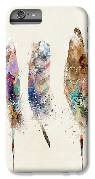 Feathers IPhone 6 Plus Case by Bri B