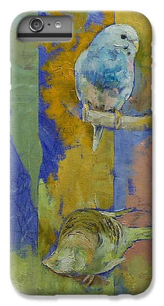 Feng Shui Parakeets IPhone 6 Plus Case by Michael Creese