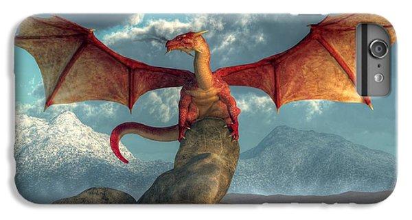 Fire Dragon IPhone 6 Plus Case by Daniel Eskridge