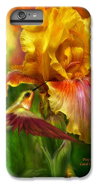 Fire Goddess IPhone 6 Plus Case by Carol Cavalaris