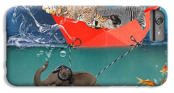 Floating Zoo IPhone 6 Plus Case by Juli Scalzi