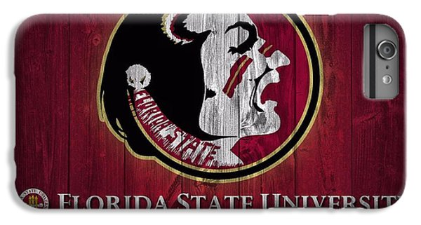 Florida State University Barn Door IPhone 6 Plus Case by Dan Sproul