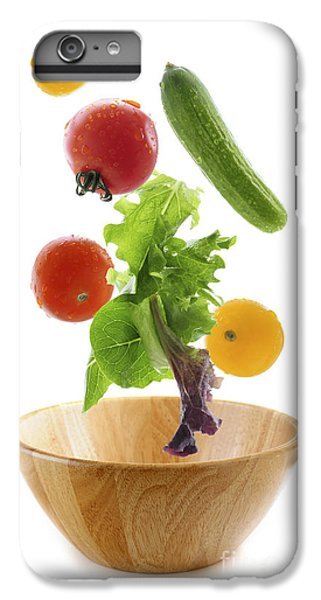 Flying Salad IPhone 6 Plus Case by Elena Elisseeva