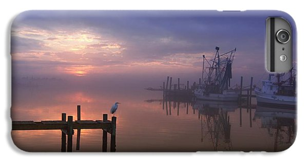 Foggy Sunset Over Swansboro IPhone 6 Plus Case by Benanne Stiens