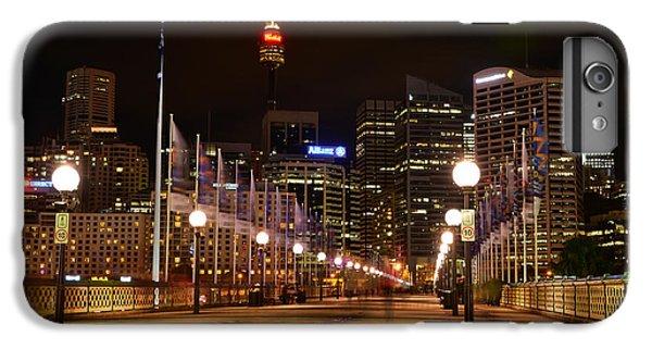 Foot Bridge By Night IPhone 6 Plus Case by Kaye Menner