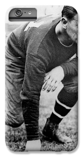 Football Player Jim Thorpe IPhone 6 Plus Case by Underwood Archives