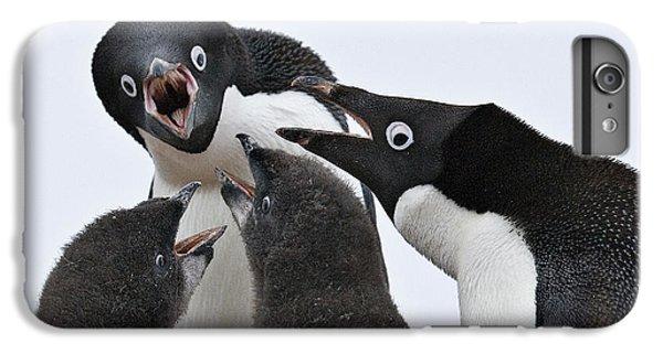 Four Penguins IPhone 6 Plus Case by Carol Walker