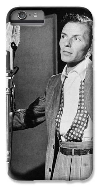 Frank Sinatra IPhone 6 Plus Case by Mountain Dreams